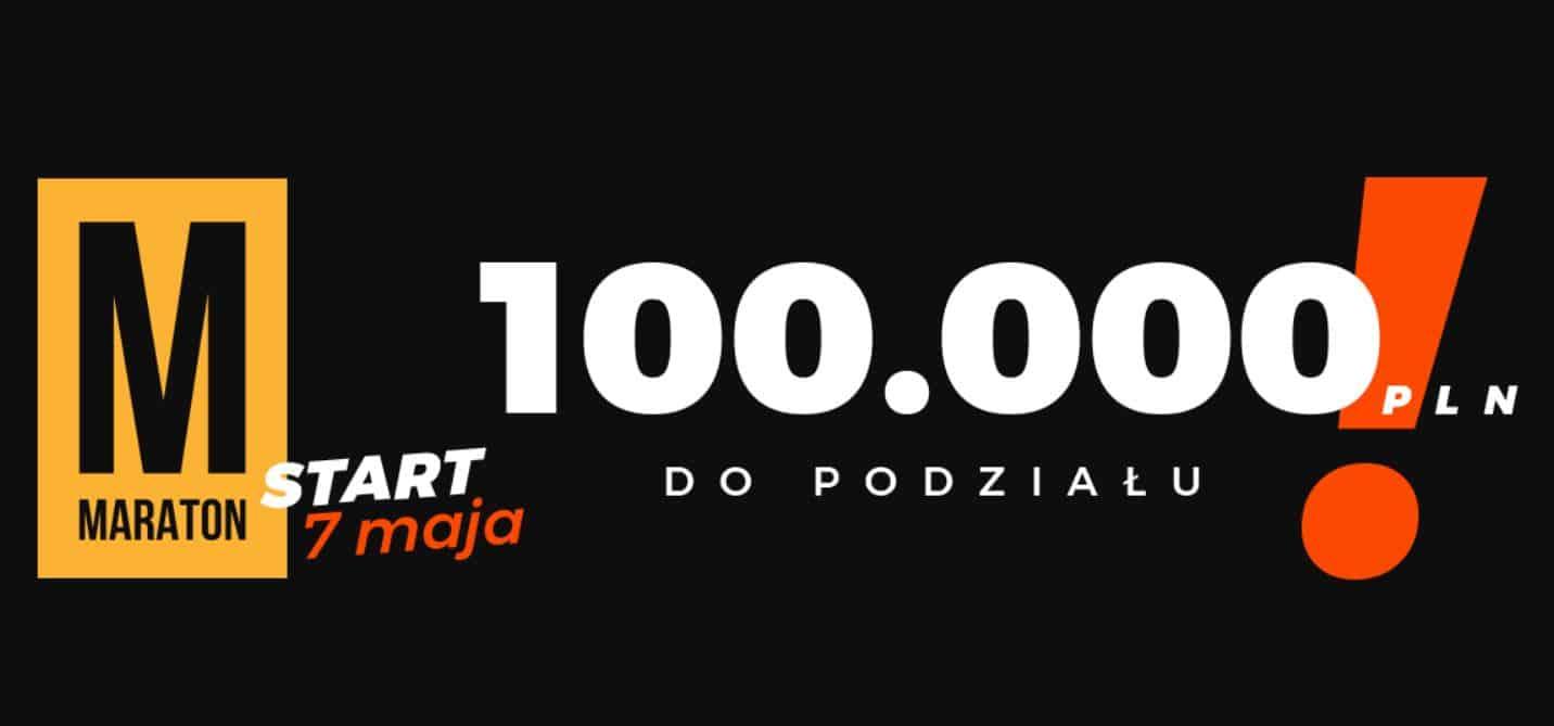 Maraton bukmacherski. Obstawianie za 100.000 PLN!