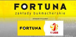 Fortuna sponsorem tytularnym pierwszej ligi!