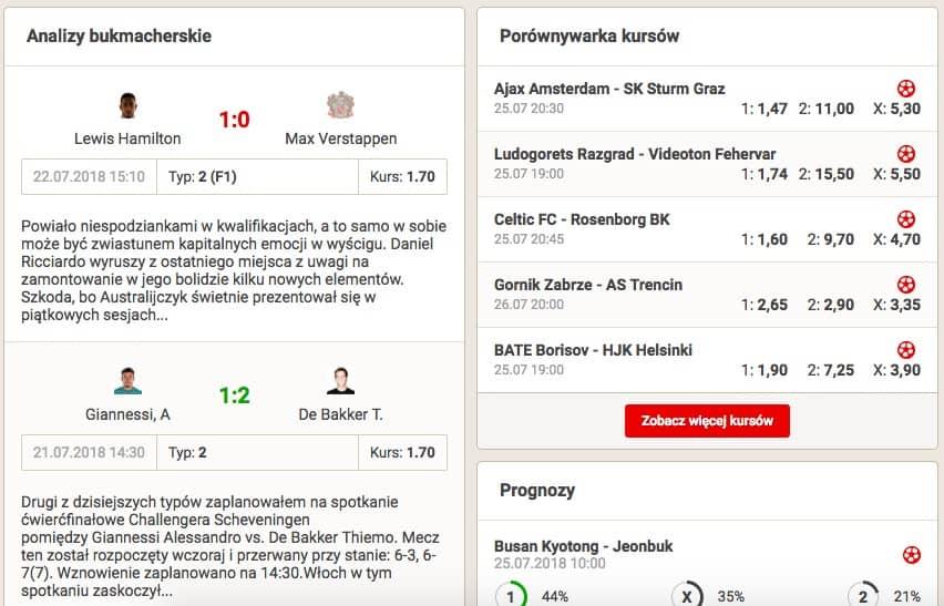 Strona z typami - BetOnline.net.pl
