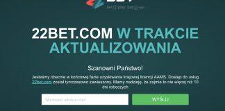 22bet legalny w Polsce już za kilka dni?!