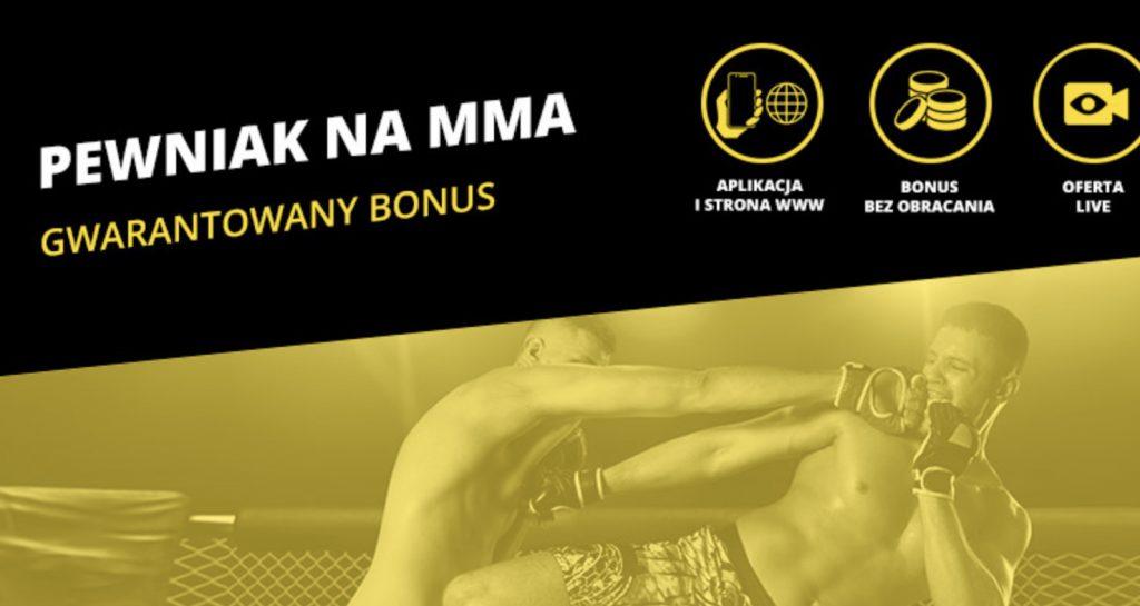 Pewniak MMA. Gwarantowane 20 PLN na KSW 50!