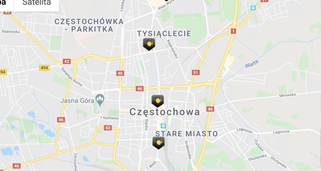 Punkty Fortuna Częstochowa. Gdzie stawiać kupony?