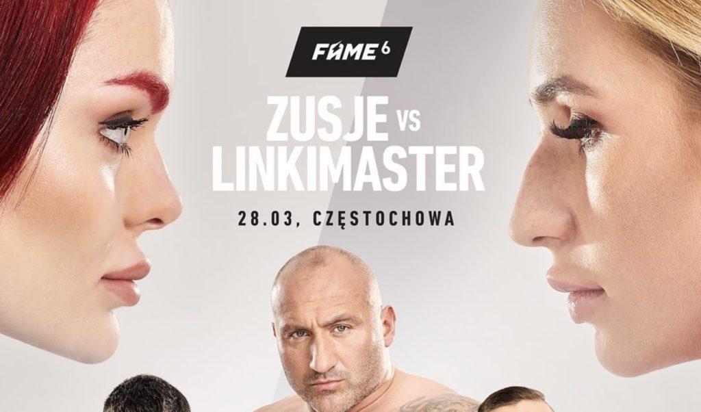Obstawianie FAME MMA 6. Konkurs z nagrodągłówną1500 PLN!
